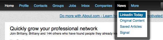LinkedIn Today 1