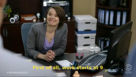first works start at nine 1