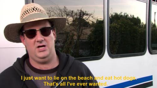 beach hotdogs