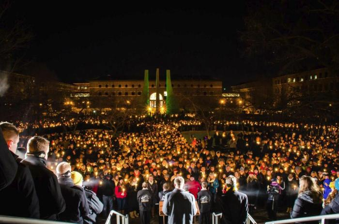 Purdue Vigil