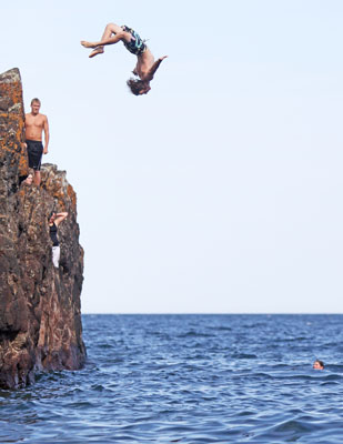 Cliff Jumping BEACH