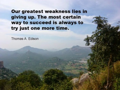 T. Edison Quote