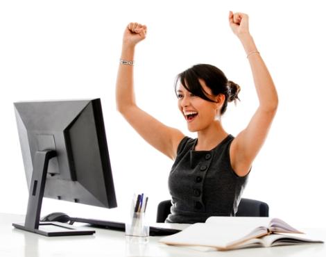computer-woman-success