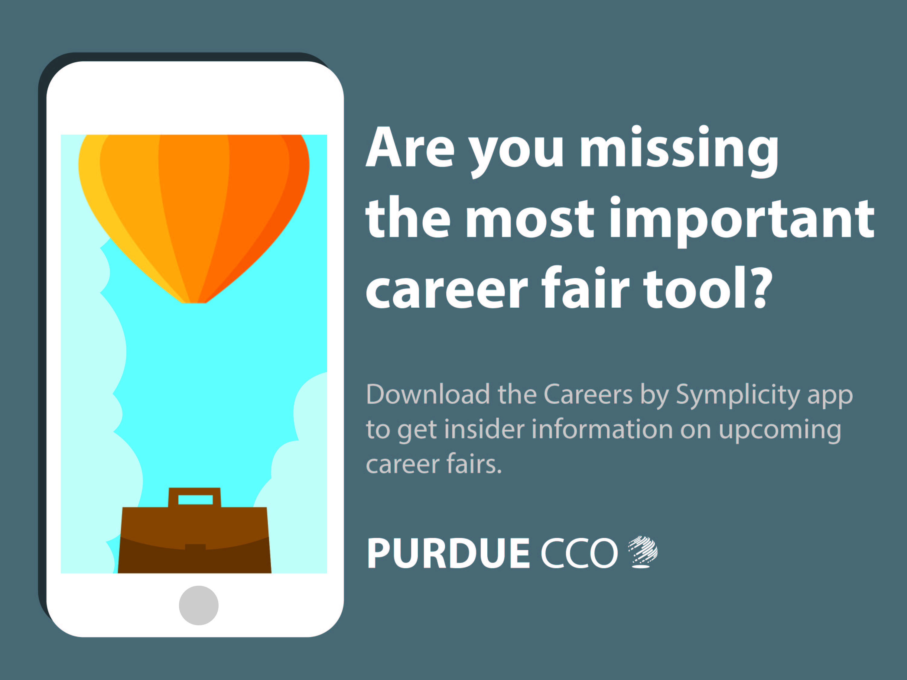 5 to to prepare for the upcoming career fairs purdue app promo marquee corrected 01
