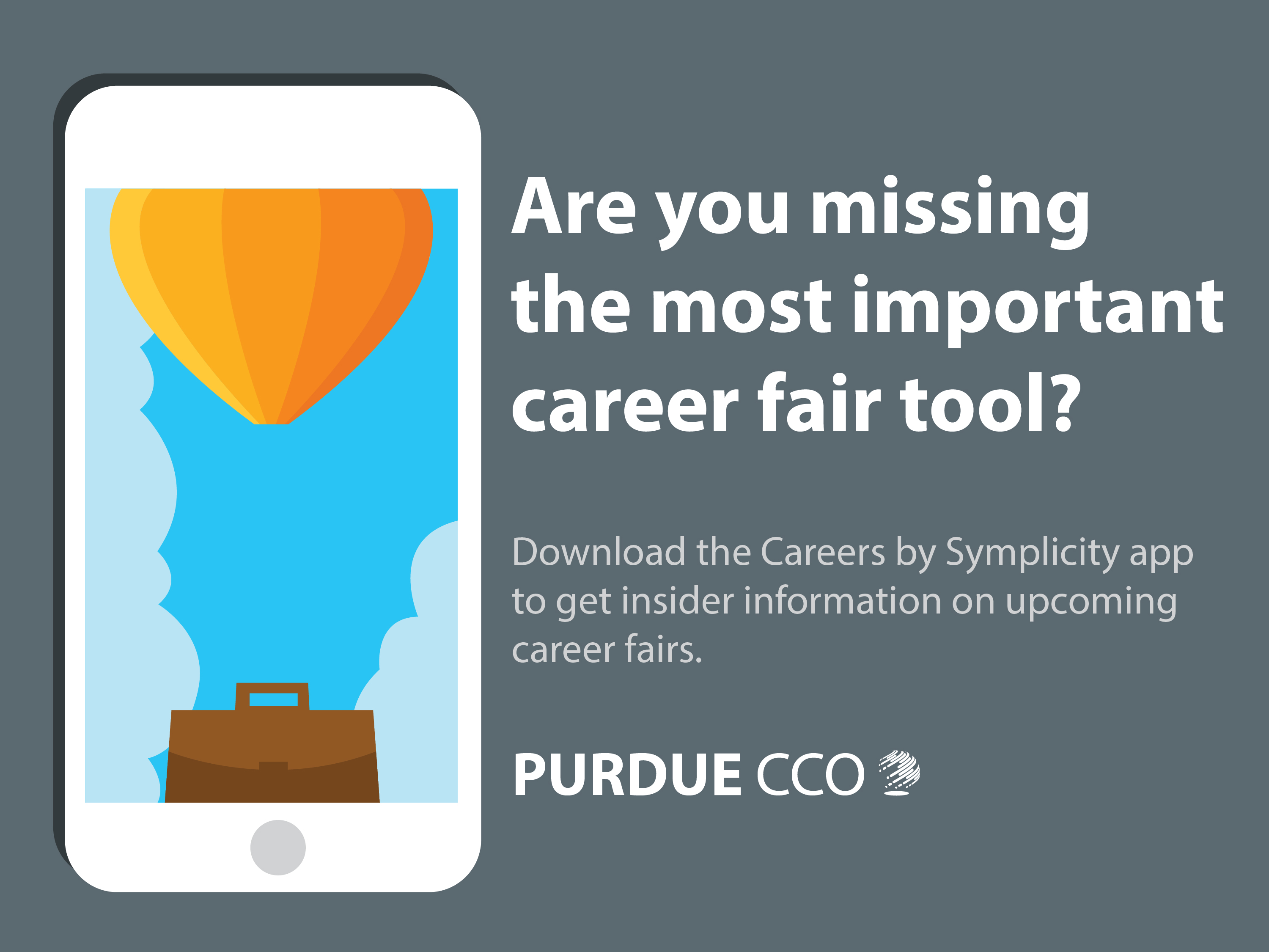 The New Career Fair App  Purdue Cco Resume