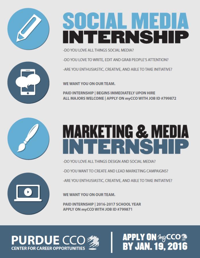 marketing  u0026 media  social media internships  u2013 purdue cco blog